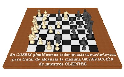 Tablero ajedrez COSEIN